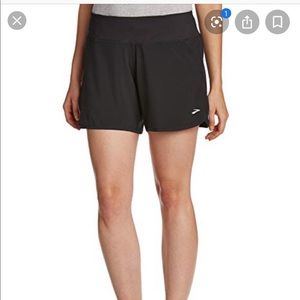 Brooks | Black Running Shorts Lined Sz L